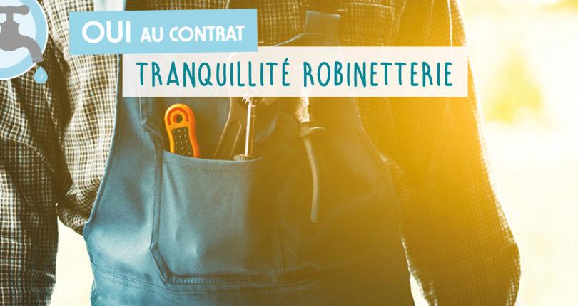 Consultation Locataires : OUI au contrat « Tranquillité Robinetterie » !
