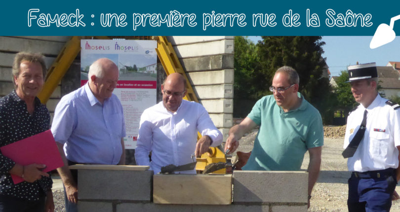 Fameck : 51 logements lancés officiellement au Clos du Moulin