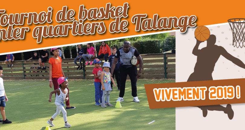 Tournoi de basket à Talange : même les petits étaient de la partie