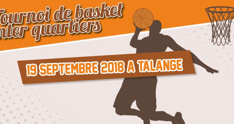 Tournoi de basket inter quartiers à Talange : c'est reparti !