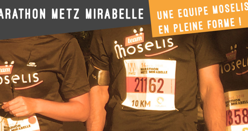 Course 10 km Haganis : une team Moselis au top !