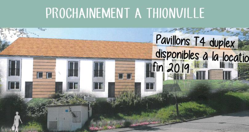 11 pavillons bientôt disponibles à la location dans le quartier de Volkrange