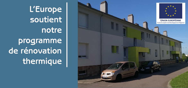L'Europe soutient notre programme de rénovation thermique