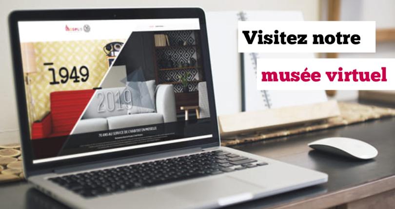 Visitez notre musée 2.0 !