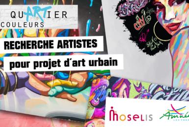 Recherche artistes pour projet d'art urbain à Amnéville