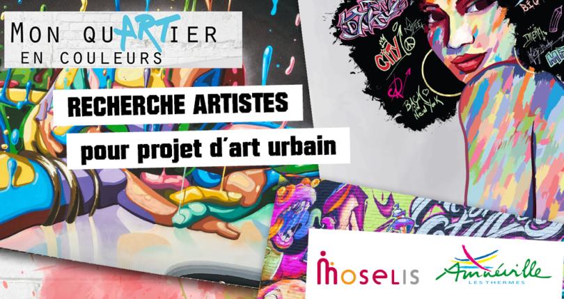 Art urbain : recherche artistes pour un projet à Amnéville